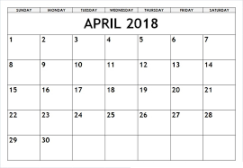april 2018 word calendar april 2018 printable calendar template word free june 2018
