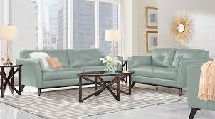 leather living room sets furniture suites blue leather for blue living room chairs