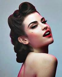 50s hairstyles for long hair
