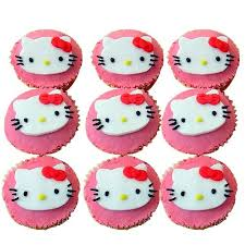 Hello Kitty Cupcakes Chandigarh Cakes Delivery Home Delivery Of