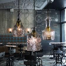 pendant lighting for restaurants. Vintage Glass Bottle Pendant Light Restaurant Bar Hanging Lamp European Style Lighting Fixture Home Decor Free For Restaurants