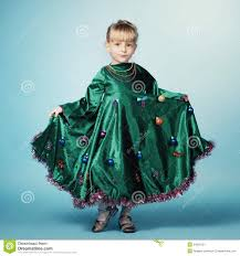 Little Girl With Christmas Tree Dress Stock Image  Image 34856131Girls Christmas Tree Dress