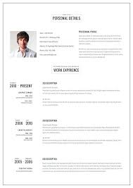 Online Resume Template Amazing Resume Web Template Online Resumes Templates Intriguing Online