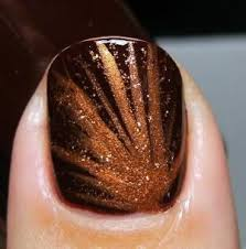 nail designs for fall 2014. fall glitter burst - thanksgiving-and-fall-nail-art-designs- nail designs for 2014