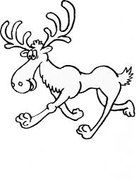 Small Picture Free Printable Moose Coloring Pages For Kids Colouring Pages For