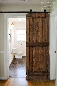 Awesome Sliding Doors For Bathroom Entrance Best 25 Barn Door For Bathroom  Ideas On Pinterest Sliding Barn