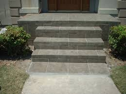 painting concrete outside steps. slate tile front porch and steps. painting concrete outside steps