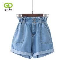 <b>GOPLUS</b> High Waist <b>Denim Shorts</b> for Women Vintage Sexy Brand ...