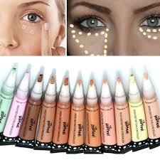 foundation makeup base corretivo concealer stick 11colors long lasting highlighter makeup bronzer face concealer pen in concealer from beauty health on