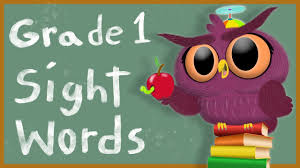 Free printable worksheets and activities for 1st grade in pdf. Sight Words Grade 1 How To Read Dolch Sightwords 1st Grade Youtube