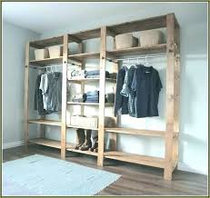 popular build closet shelf in wizrd me storage building a incredible idea how to wood mdf clothes rod plywood diy linen custom walk