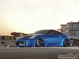 nissan 350z modified blue. Interesting Blue 2003 Nissan 350Z Track Volk Racing CE28N Wheels  Intended Nissan 350z Modified Blue