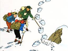 Image result for tin tin in tibet - the yeti
