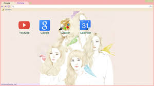 Red Velvet Ice Cream Cake Chrome Theme Themebeta