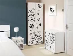 white bedroom furniture for girls. Wonderful Bedroom Black And White Butterfly Design Girls Bedroom Furniture And White Bedroom Furniture For Girls R