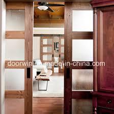 american oak wood frame shower barn