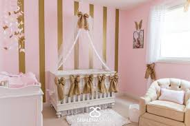 interior pink and gold nursery bedding pink and gold nursery