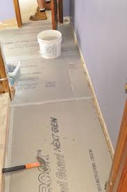 tile suloor deflection thickness