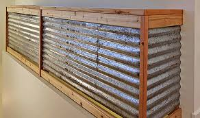 reclaimed corrugated metal