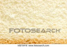 White Bread Slice Texture With Crust Stock Photograph K9210416