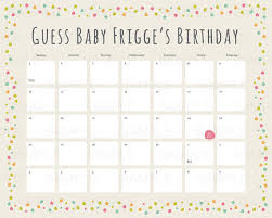 Printable Due Date Calendar Free Printable Baby Due Date Guess