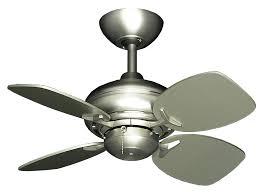 picture of 26 mini breeze ceiling fan in satin steel