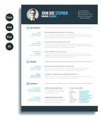 Resume Template For Free Download Extraordinary Best Resume Templates To Download Cv Template 48 Free Word