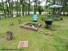 fire pit makeover