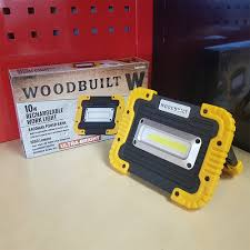 Portable Led Work Lights Nz 10w Cob Rechargeable Work Light With Power Bank Usb Port