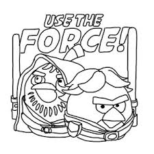 Small Picture The Famous Han Solo Angry Bird Star Wars Coloring Pages The