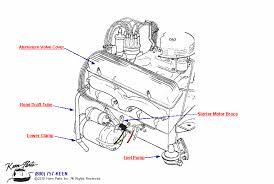 1953 2017 corvette engine draft tube parts parts accessories engine draft tube diagram for all corvette years