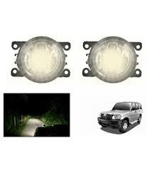 Types Of Fog Lights Lumax Car Fog Lamp Assembly Set Of 2 Mahindra Scorpio Type 1
