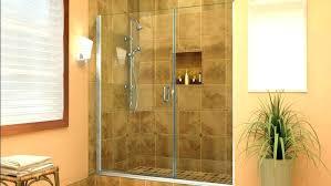 bathtub glass door