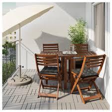 outdoor ikea furniture. ikea pplar table4 folding chairs outdoor ikea furniture