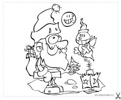 Disegni Di Babbo Natale Disegno Babbo Natale Da Colorare