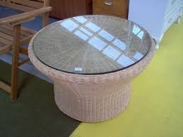 cane coffee table with glass top cane coffee table with glass