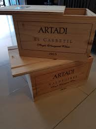Image Wood Planter Box Carousell Wine Crates Decoration Wood Design Craft Others On Carousell