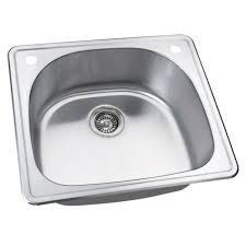 Water Creation 25inch X 22inch Zero Radius Single Bowl Stainless 25 X 22 Kitchen Sink
