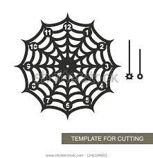 Spider Pattern Printable Free Spider Web Template Clemsonparade Co