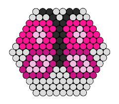Hexagon Perler Bead Patterns