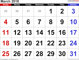 blank march calendar 2018 printable march calendar 2018 at jamesbroo me
