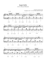 Fingerings included, arrangement by fabrizio ferrari with mp3 and midi files. Jingle Bells Piano Solo Sheet Music Best Music Sheet
