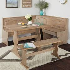 farmhouse dining room set. Simple Living Knox 3-Piece Nook Set Farmhouse Dining Room