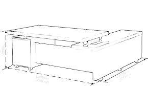 Standard Desk Sizes Dimensions Mm Size Australia Portreti Info