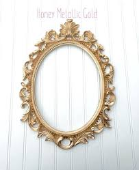 baroque picture frame french oval wedding nursery frames backless ornate shabby chic from a4 uk full