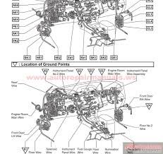 toyota rav electrical wiring diagram auto repair manual