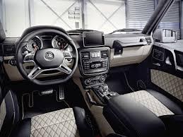 mercedes g wagon white interior. MercedesBenz GClass BR 463 2015 AMG 63 With Mercedes Wagon White Interior