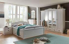 Landhaus Schlafzimmer Inga Kiefer Massiv Von Jumek Günstig Bestellen