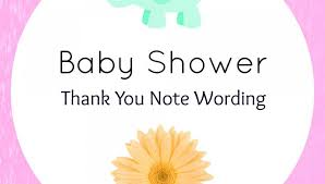 Stunning Thank You For Baby Shower Giftding Note Gifts Handmade ...