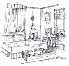 Sketchbook | Michael Hampton Design | Interior Design Sketches Washington  DC | Interior Design Sketches | Pinterest | Interior design sketches, ...